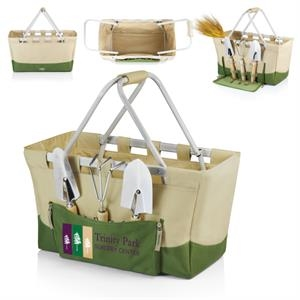Metro (r) - Lightweight, Collapsible Basket: Features Three Garden Tools