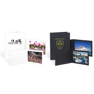 "5"" X 7"" - Offset - Smooth Coated 16 Point Paper Photo Folder"