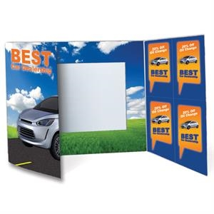 Coupon Gatefold Photo Folder - Deluxe