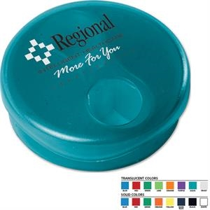 Dual Pill Organizer (tm) - Pill Box With Dual Compartments