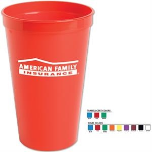 Stadium Cup. 22 Oz. Made From Polypropylene Material