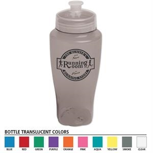Polysure (tm) - 24 Oz Food Grade Pet Bottle Features The Twister Family Design