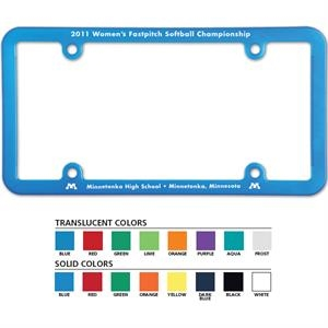 License Plate Frame With 4 Holes-universal