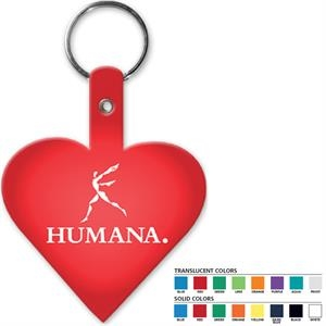 Heart - Shaped Key Tag