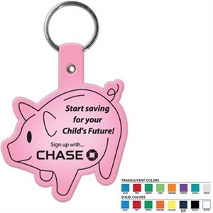 Piggy Bank Shaped Key Tag