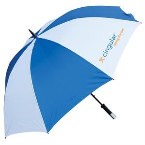 Golf Umbrella With A 14mm Black Fiberglass Shaft