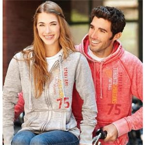 Ridgemont - All-in - Women's Fleece Full Zip Hoody Has Lower Patch Pockets And Front Metal Zipper