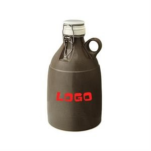 64oz stoneware Growler