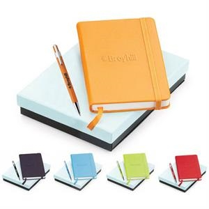 "Tempest - 2-piece Gift Set With Push-action Plastic Pen And 3 3/4"" X 5 5/8"" Journal"