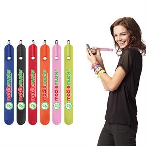 Vanessa - Overseas Direct Only - By Air. - Rubberized Plastic Stylus That Can Turn Into A Bracelet Or Be Used As A Bookmark
