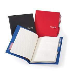 Vytex - Notebook With Interior Pen Loop, Card Slot And Refillable Notebook