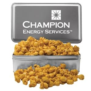 Large Rectangle Tin with Caramel Popcorn