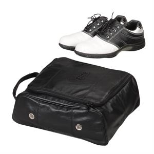 Leather Golf Shoe Bag