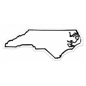 30 Mil - Magnet - North Carolina - Full Color. Digital 4cp Print; Stock 20 Mil; 30 & 50 Mil