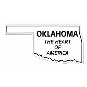 20 Mil - Magnet - Oklahoma. Digital 4 Color Process Print; Stock 20 Mil; 30 & 50 Mil