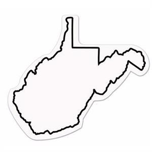 20 Mil - Magnet - West Virginia - Full Color. Digital 4cp Print; Stock 20 Mil; 30 & 50 Mil