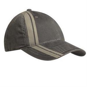 Port Authority (r) - Double Stripe Cap With Unstructured Profile