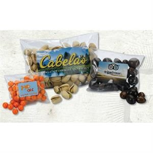 Sweetz (tm) - Large Heat Sealed Bag - Plastic Heat Sealed Bag With Your Choice Of Nut Fill