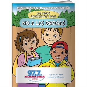 Coloring Book - Smart Kids Say No To Drugs! (spanish)