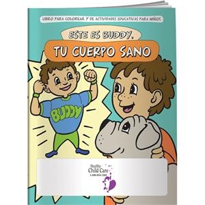 Coloring Book - Meet Buddy: Your Healthy Body (spanish)