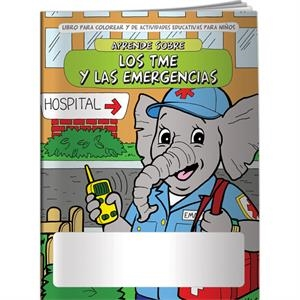 Coloring Book - Spanish Learn About Emts And Emergencies