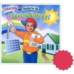 Coloring With Picture Me(r) - Children's Coloring Book Saving Energy