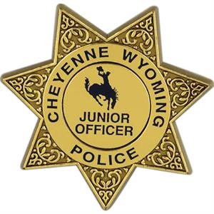 Junior Plastic 7 Point Badge, Customizable