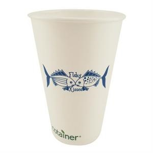 500 Line - 16 Oz - Recycled And Biodegradable Solid Cups