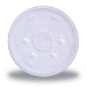 High Lines - 10 Oz Straw-slotted Lids For Foam Cups