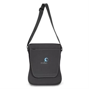 Ultrabook (tm) - Neoprene Computer Messenger Bag With Multi-function Organizer Under Front Flap