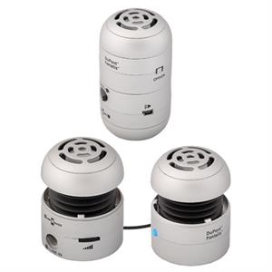 Dual Pop-up Rechargeable Stereo Speakers