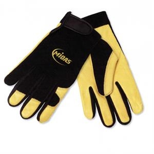 Tool Zone (tm) - Cow Grain Mechanics Glove