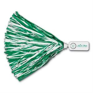 "Pom With 1 3/4"" X 4"" Rectangle Token Handle And 500 Streamers"