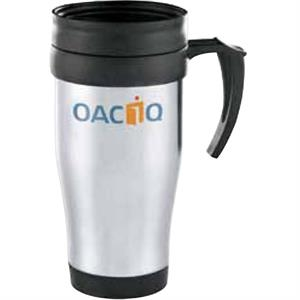 Java - Stainless Steel Mug, 14 Oz, With A Plastic Liner