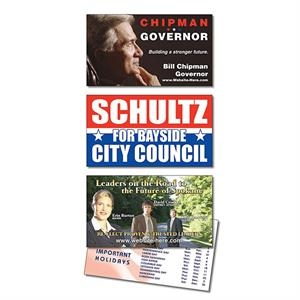 Political Laminated Business Card - 3.5 X 2 (2-sided)