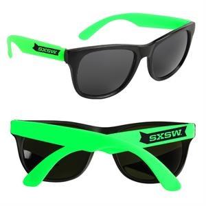 Custom Neon Retro Sunglasses