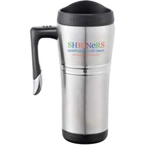 Cutter & Buck (r) Performance Series - Stainless Steel Travel Mug With Stainless Steel Liner, 16 Oz