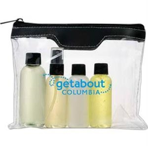 Air Safe Toiletry Kit, Meets Transportation Security Administration Requirements