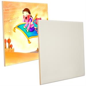 "This Ceramic Photo Tile Features The Best In Sublimation Coating, 8"" X 10"""