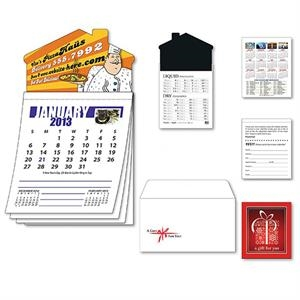 Magna-cal (tm) - Magnet - House Standard Calendar -jan. 2013. Available To Ship: 9/1/12 Thru 2/14/13