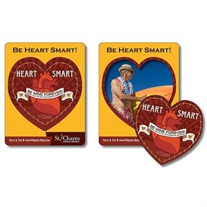 "Tuffmag (tm) - Magnet - Picture Frame Heart Punch (3.5"" X 4.5"") - Outdoor Safe"
