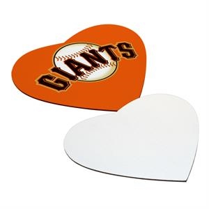 Mouse Pad, The Ideal Promotional Item Or Company Giveaway, 3mm Heart