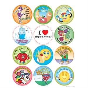 Eat Healthy! Live Healthy! - Removable Sticker Fun