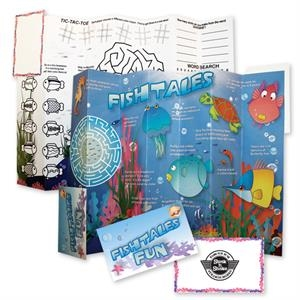 Fishtales - Folding Coloring Placemats