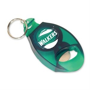 Translucent Green - Bottle Opener. Closeout Price! Available While Supplies Last!