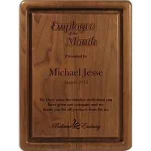 Ultra Recognition - Walnut Plaque