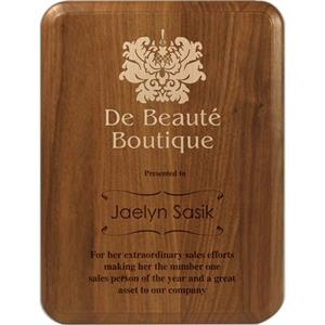 Premier - Walnut Plaque With Classic Look