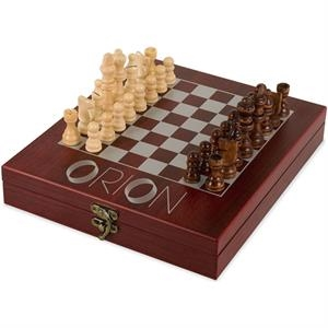 Lancer - Rosewood Box With Chess Set