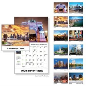Econoline - Wall Calendar With Scenes Of New York