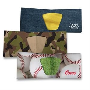 Stock Design, Full Color Tyvek (r) Bi-fold Wallet, Add Your Logo